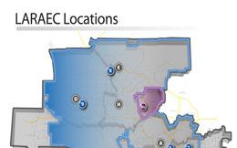 LARAEC Locations